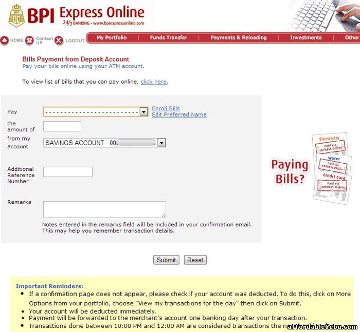 How To Monitor Your Bank Statement Of Account In Bpi