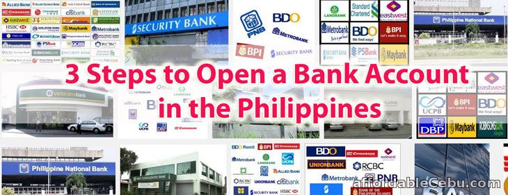 Steps to Open a Bank Account in the Philippines