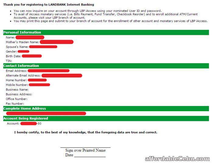 internet banking landbank