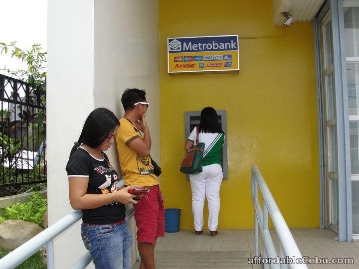Fall in line withdrawing money in ATM-Philippines