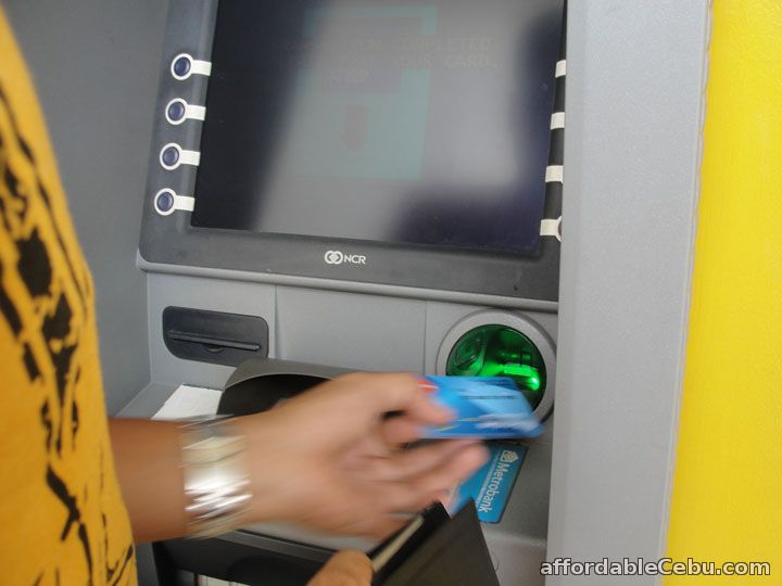 how to withdraw money in the atm  machine  in philippines