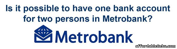 Metrobank Joint Account