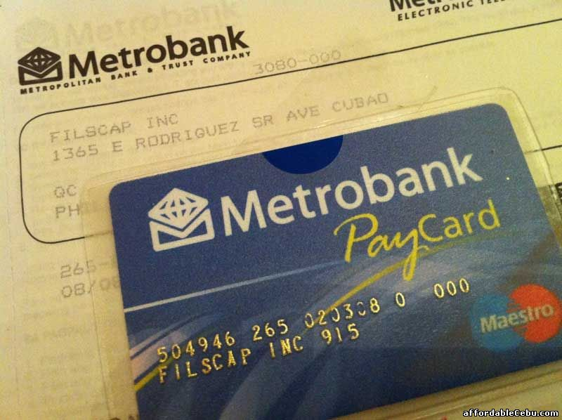 Metrobank Paycard
