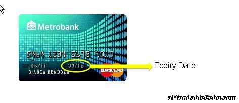 Metrobank Credit Card Expiration Date