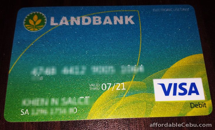 Requirements in Opening or Applying a LandBank ATM Card