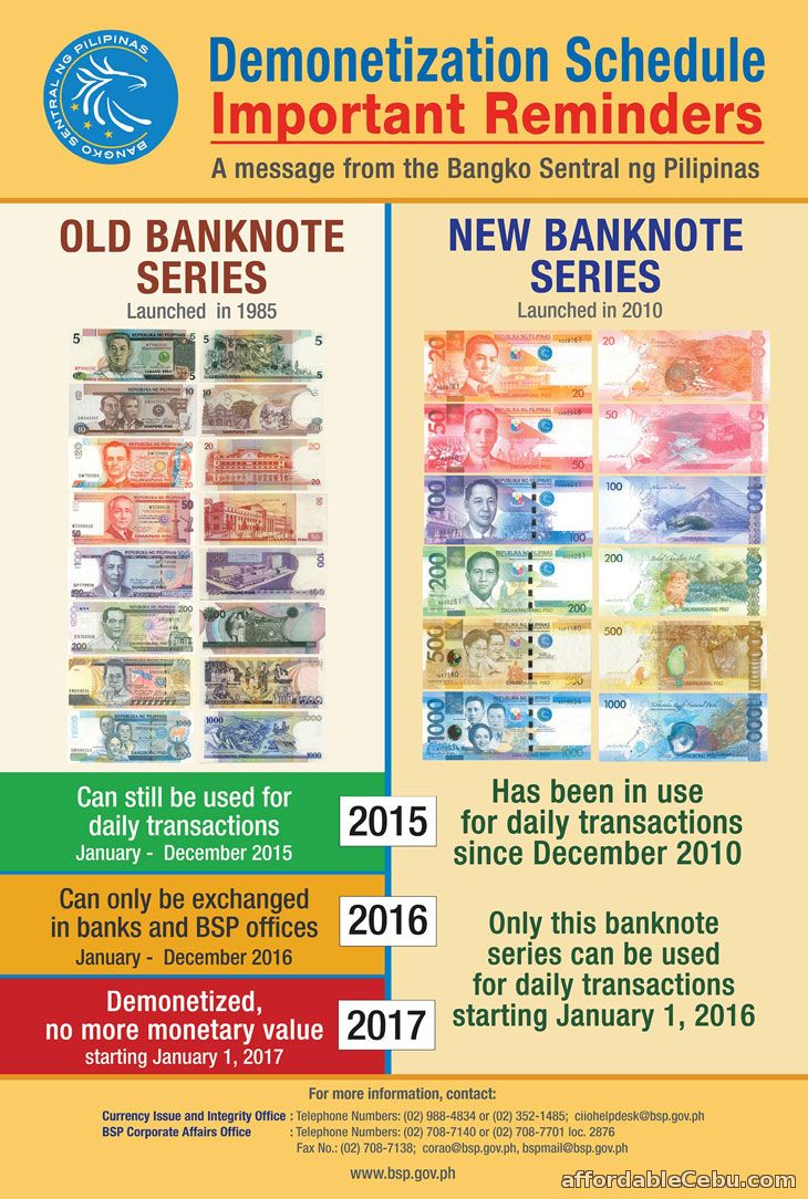 Old Philippine Paper Bills Not Accepted