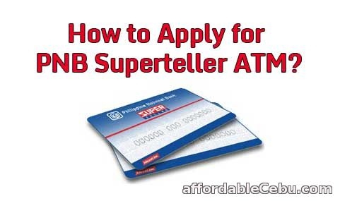 PNB Superteller ATM Card