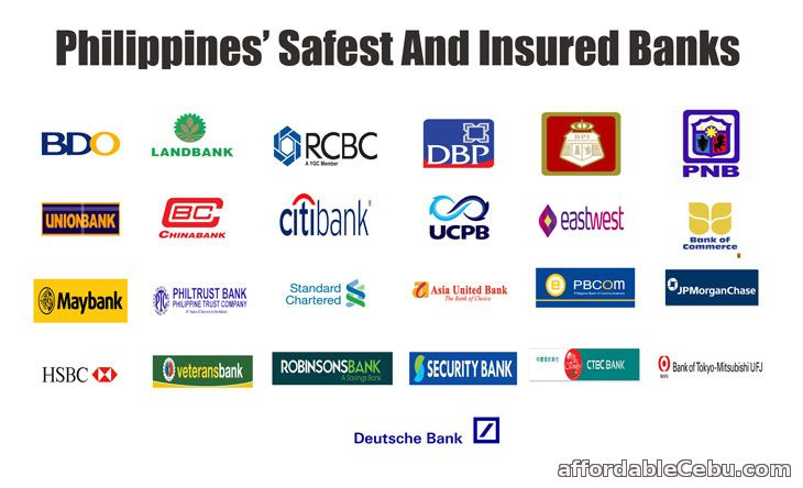 Philippines' Safest and Insured Banks