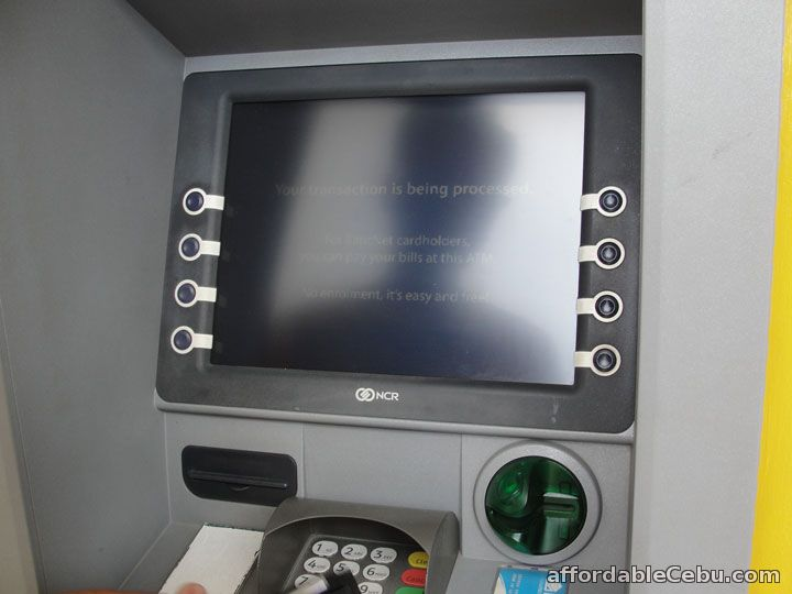 Transaction Processed ATM Machine