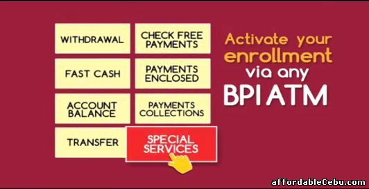 activate BPI online banking account
