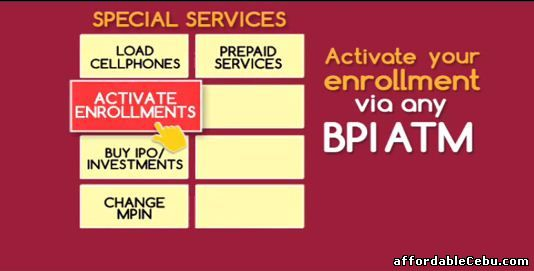 activate BPI online banking account 2