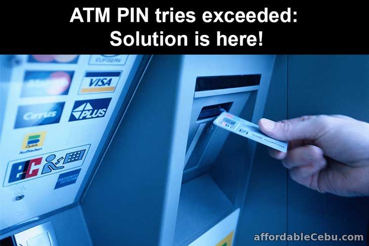 ATM PIN tries exceeded: Solution is here!