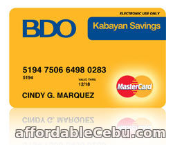 how to use my bdo credit card points