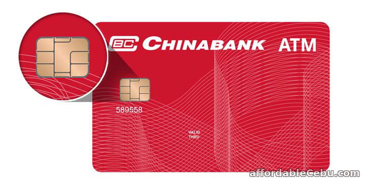 New Chinabank ATM Card (with EMV chip)