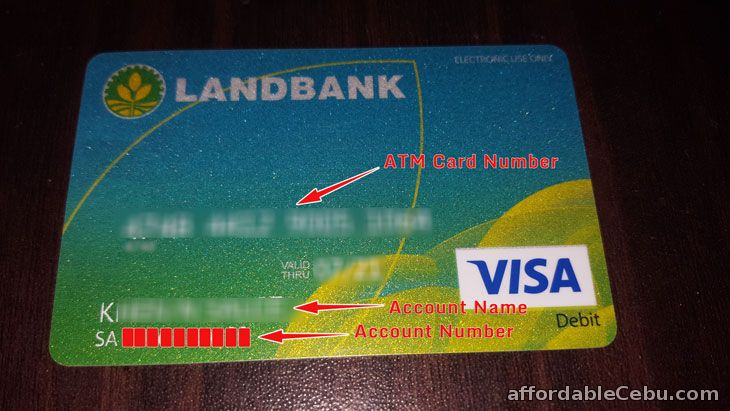 Landbank Account Number