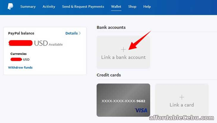 Link Paypal to BDO Account