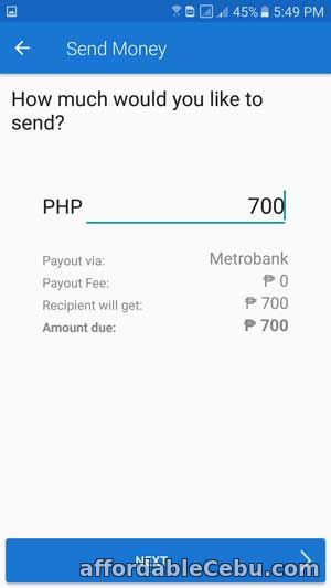 Transfer Money from COINS.PH to Metrobank Account
