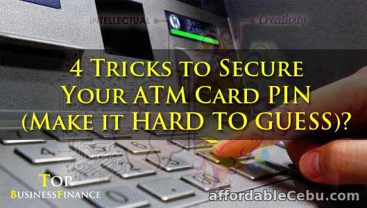 4 Tricks to Secure ATM Card PIN Number