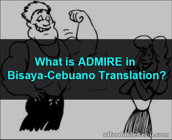 What is ADMIRE in Bisaya-Cebuano Translation?