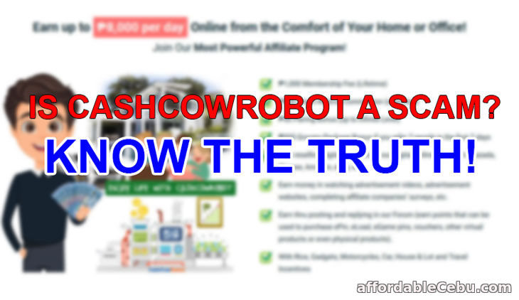 Is CashCowRobot a Scam? Know the Truth