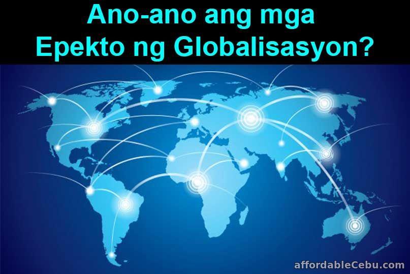 Mga Epekto ng Globalisasyon