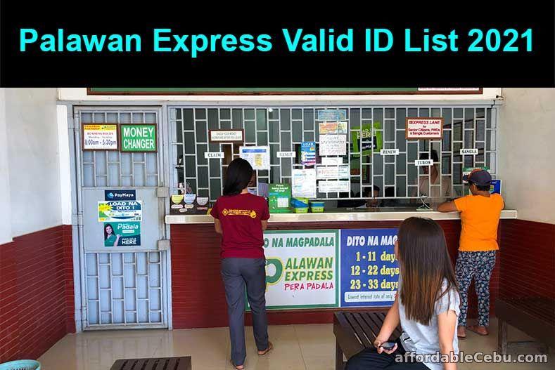 Palawan Express Valid ID List 2021