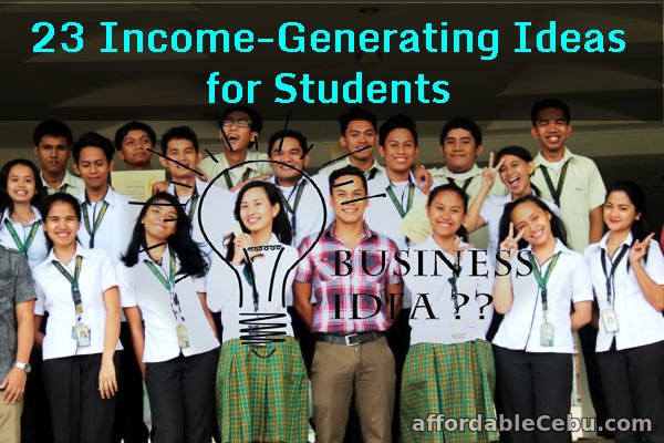 Income-Generating Ideas for Students
