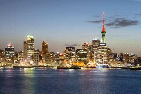 Auckland New Zealand HD photo