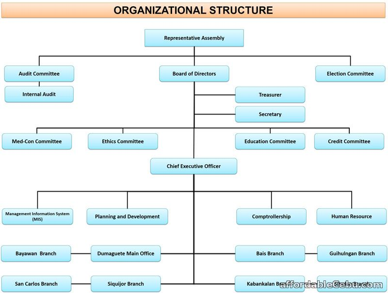 DCCCO Multipurpose Cooperative Organizational Chart