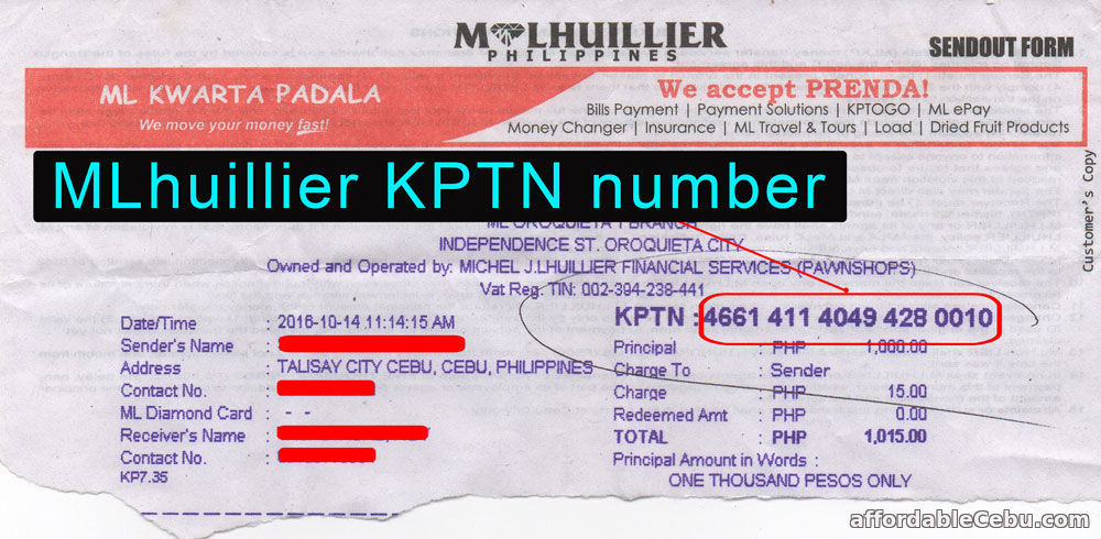 How to claim cash at m lhuillier kwarta padala – coins. Ph help center.