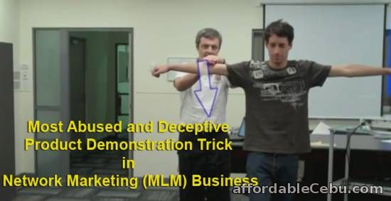 Most Deceptive Network Marketing Product Demonstration