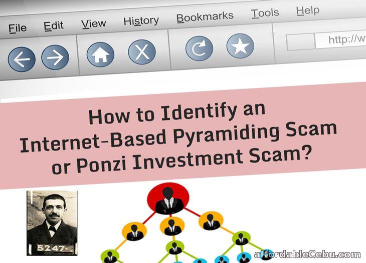 Ponzi Investment Scam Internet