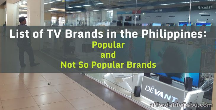 TV Brands in the Philippines