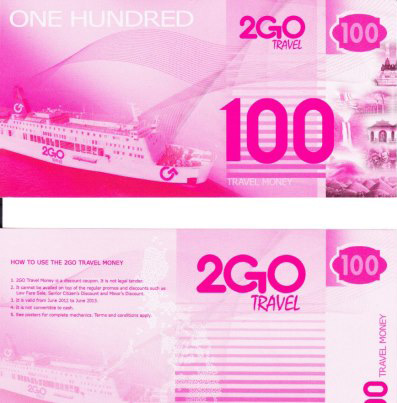 2GO Travel Money