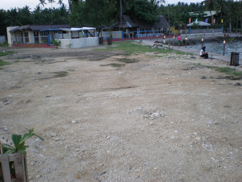 Guanzon Beach Resort Parking Area