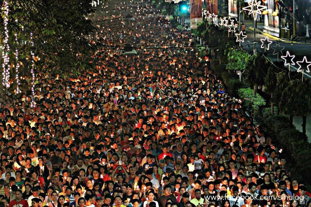 Sinulog Procession 2013