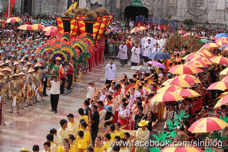 Sinulog 2013 in Sto. Niño Chapel