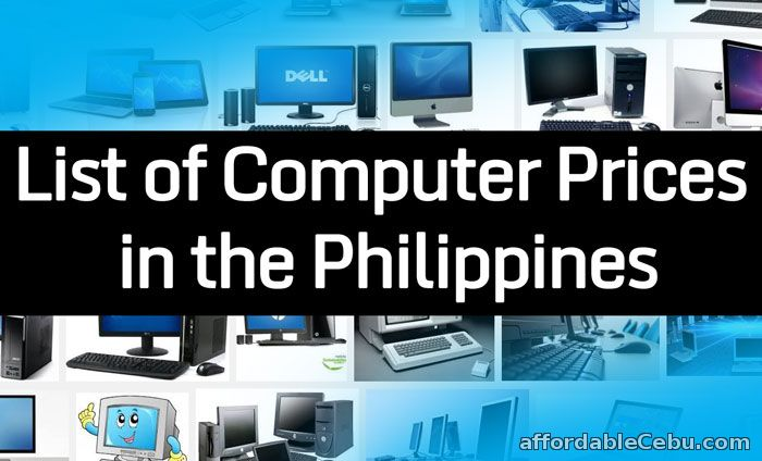 Computer Pricelists in the Philippines