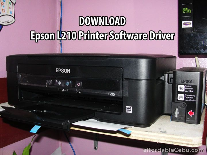 Download Epson L210 Printer Software Driver