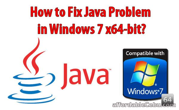 Fix Java Problem in Windows 7 64-bit