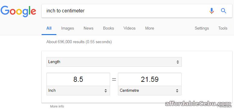 8.5 x 13 in centimeter (cm)