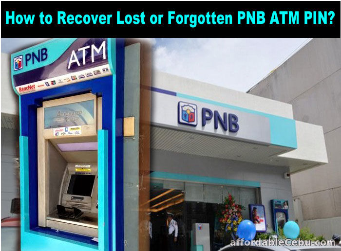 Recover PNB ATM PIN
