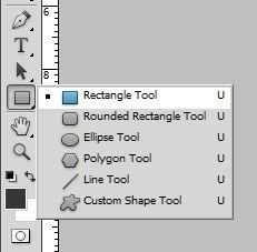 Rectangle Tool in Photoshop