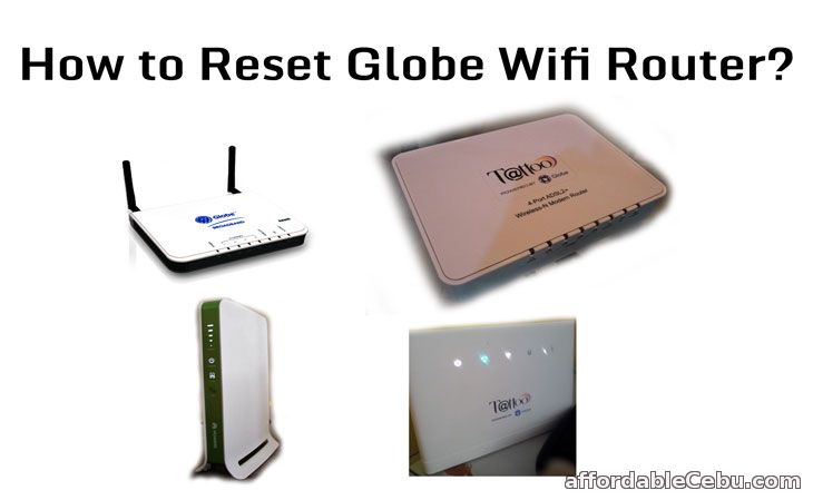 Reset Globe Wifi Router