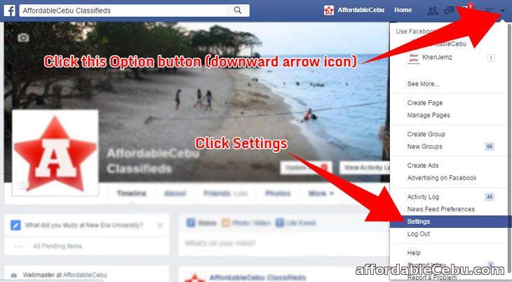 Stop auto-play videos in Facebook computer