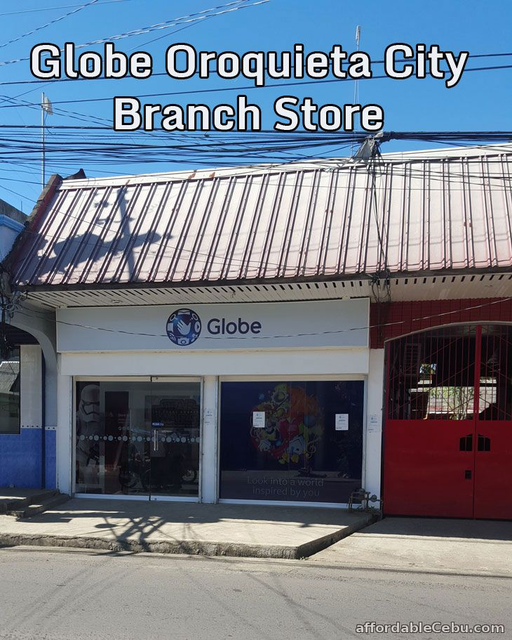 Globe Oroquieta City Branch Store