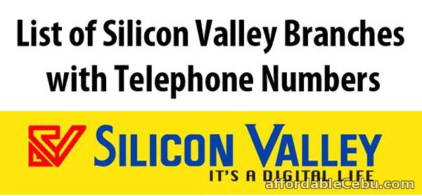 Silicon Valley Branches with Telephone Numbers