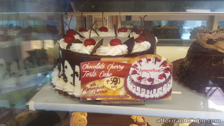 Chocolate Cherry Torte Cake Goldilocks