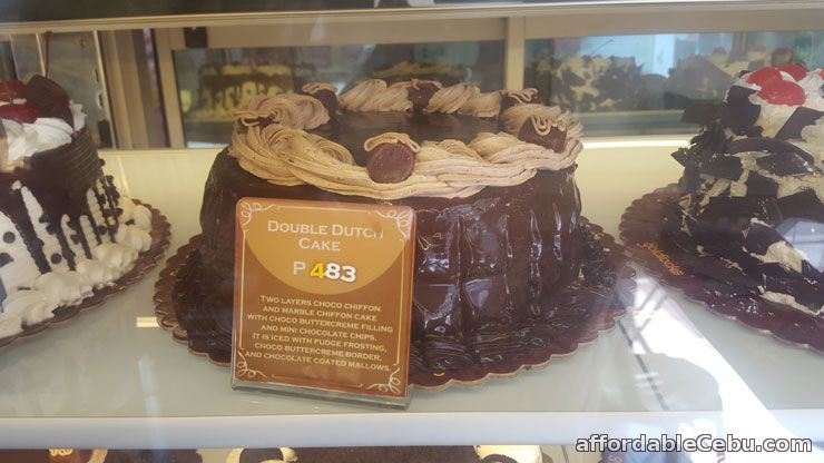 Goldilocks Double Dutch Cake