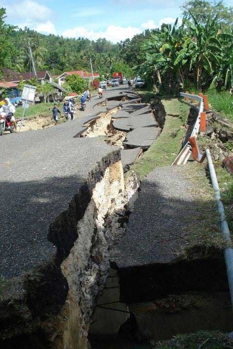 Earthquake in Negros Occidental
